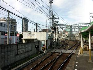 近鉄・米野駅