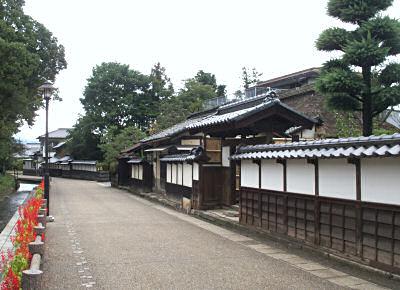 松代の武家屋敷