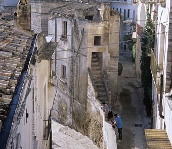 グラヴィーナの旧市街にて