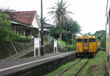 日南線榎原(よわら)駅