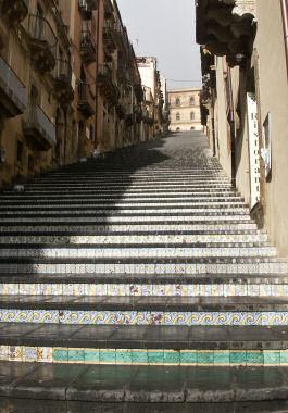 カルタジローネのザ・階段