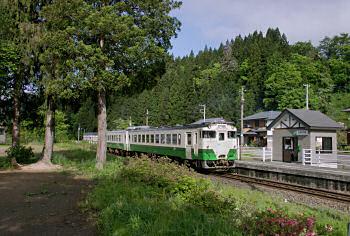 2007年の会津西方駅