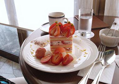 「御影高杉」のショートケーキ