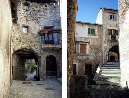 サント・ステーファノ・ディ・セッサーニョの村の中