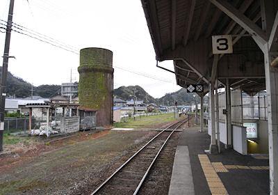 浜坂駅の給水塔