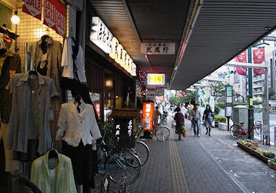 巣一商店街