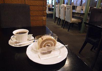 福島屋のケーキセット