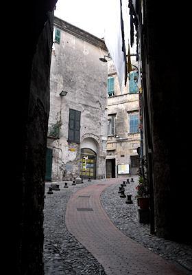 旧市街の入口近く