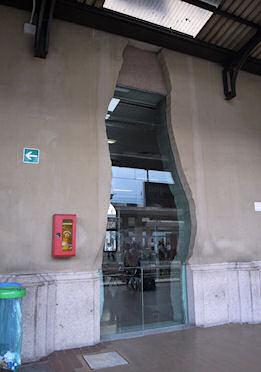 待合室の外