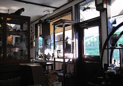 極楽寺の喫茶店