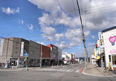 風蓮の商店街