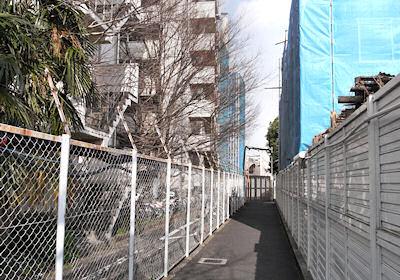 駒込病院と吉祥寺の境