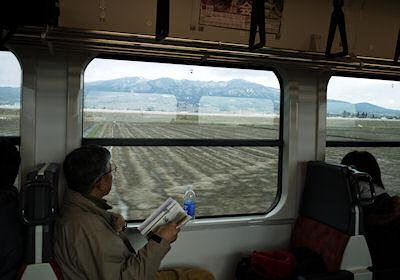 磐越西線の車窓