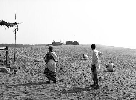 オリッサの海岸にて
