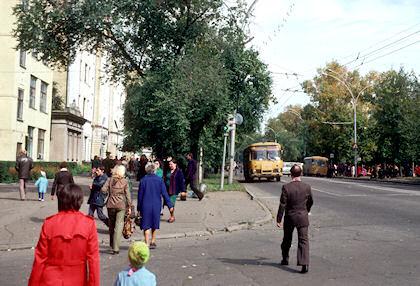 ハバロフスク市街