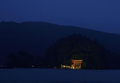 琵琶島の弁天堂