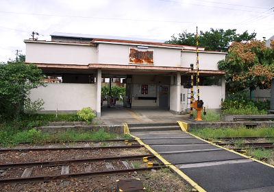 木津川駅の駅舎