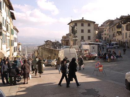 アンギアーリの広場