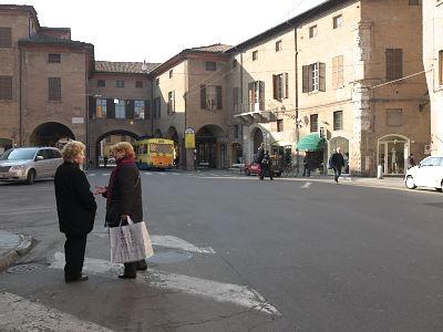 モーデナの中心部