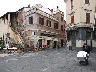 グロッセートの旧市街