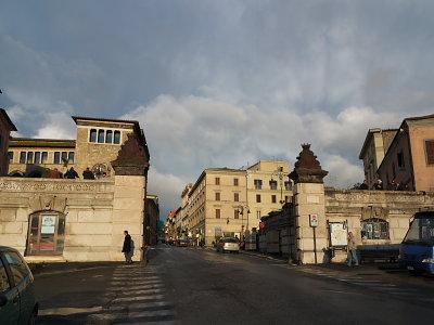 タルクイニア旧市街入口