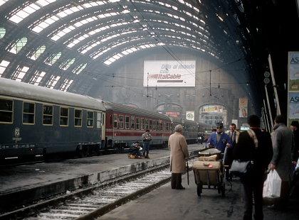 1985年のミラノ中央駅