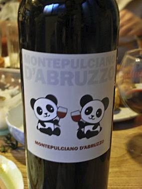 パンダ印のイタリアワイン