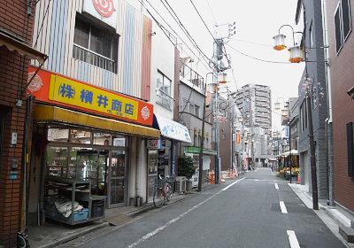 日の出町商店街・横井商店