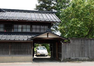 長井の民家