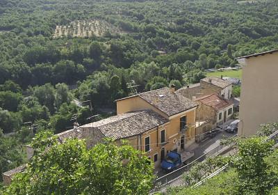 ペットラーノから見た風景