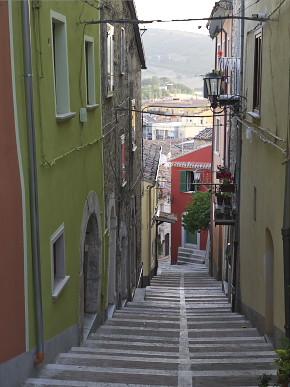 カンポバッソの旧市街