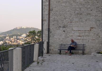 カンポバッソから見たフェッラッツァーノ