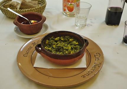「ピッツァとスープ」?