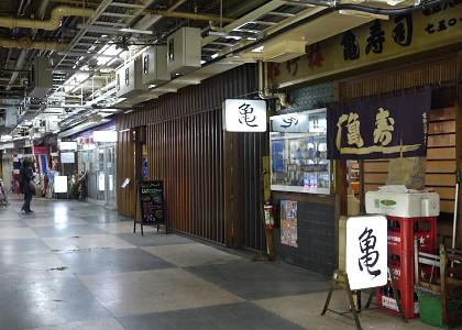 浅草駅の地下街