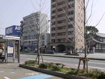 今川橋バス停付近2013年