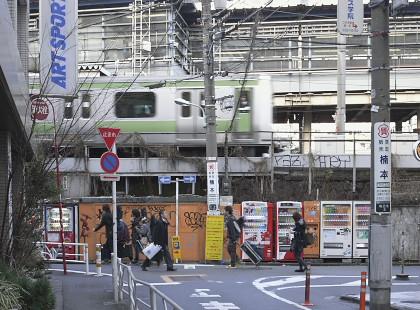 渋谷駅南西側