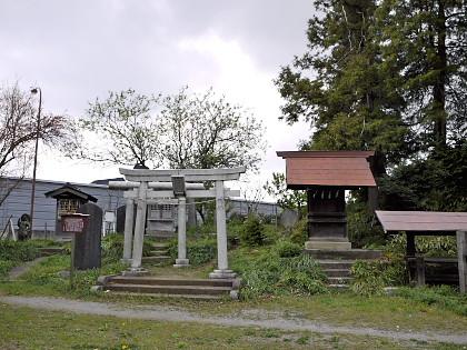 浅間神社の富士山