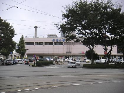 2005年の富山駅