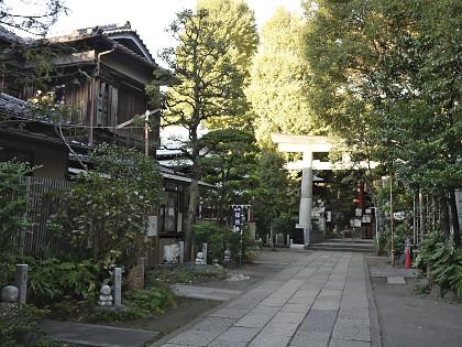 亀戸の天祖神社