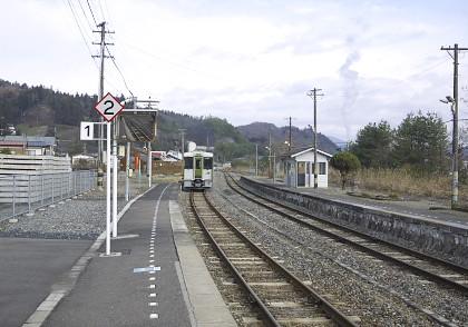 大船渡線陸中松川駅