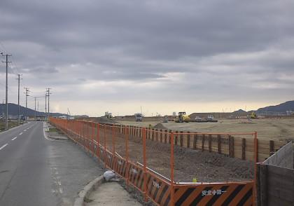 陸前高田の市街地跡