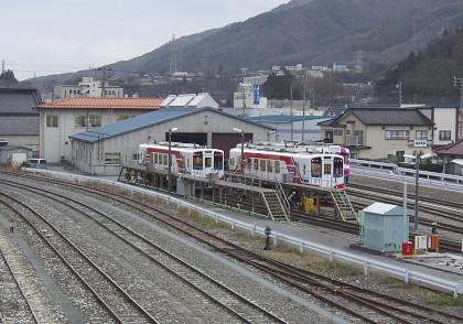 三陸鉄道・盛車両基地