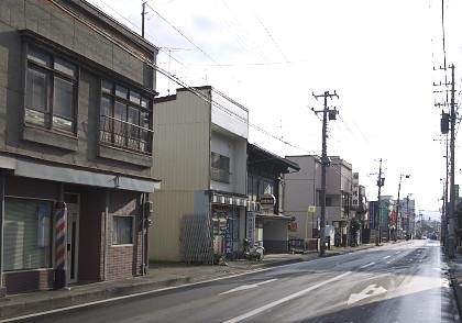八戸市中心部