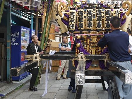 浅草東町会の神輿