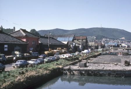 1979年の小樽運河