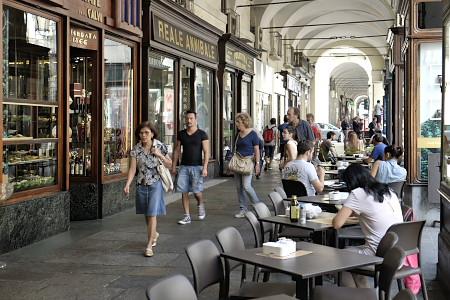 トリノのカフェ