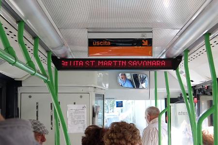 サンマルタン-サヨナラ バス停