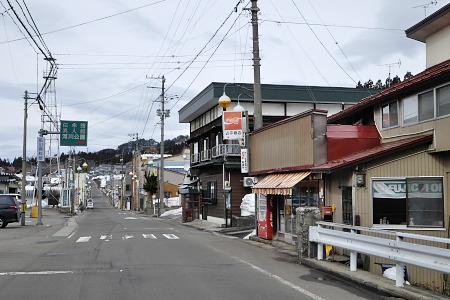 阿仁銀山の街並み
