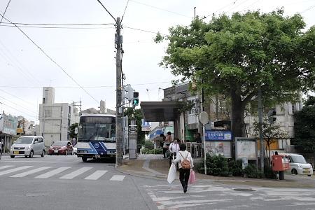 開南バス停