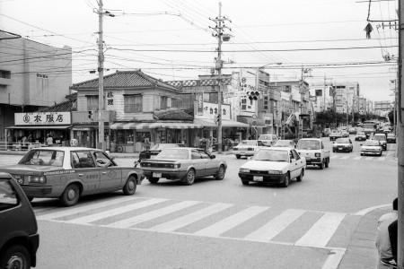 コザ十字路1993年